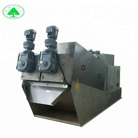 Screw Press Sludge Dewatering Wastewater Treatment Machine For Plant In WTP